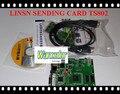 Frete grátis Linsn TS802 full color rgb 2048 * 640 pixel levou exibição TS802 síncrono cartão envio para full color display LED