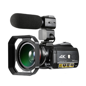 Image 3 - プロ 4 3k フル hd wifi ナイトショットビデオカメラビデオカメラ 3.1 タッチスクリーン内蔵マイク屋外旅行使用