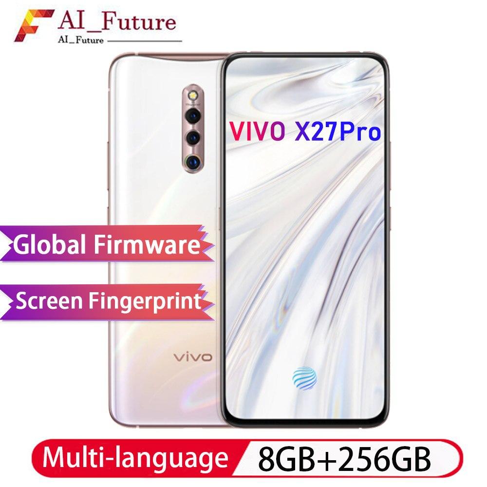 ROM globale d'origine VIVO X27pro 8 GB 256 GB snapdragon 710 Octa Core Android9 Smartphone 4000 mah reconnaissance d'empreintes digitales à l'écran-in Mobile Téléphones from Téléphones portables et télécommunications on AliExpress - 11.11_Double 11_Singles' Day 1