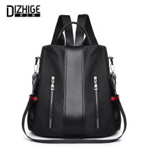 DIZHIGE Brand Fashion Waterproof Oxford Women Anti-theft Backpack High Quality School Bags For Multifunctional Travel