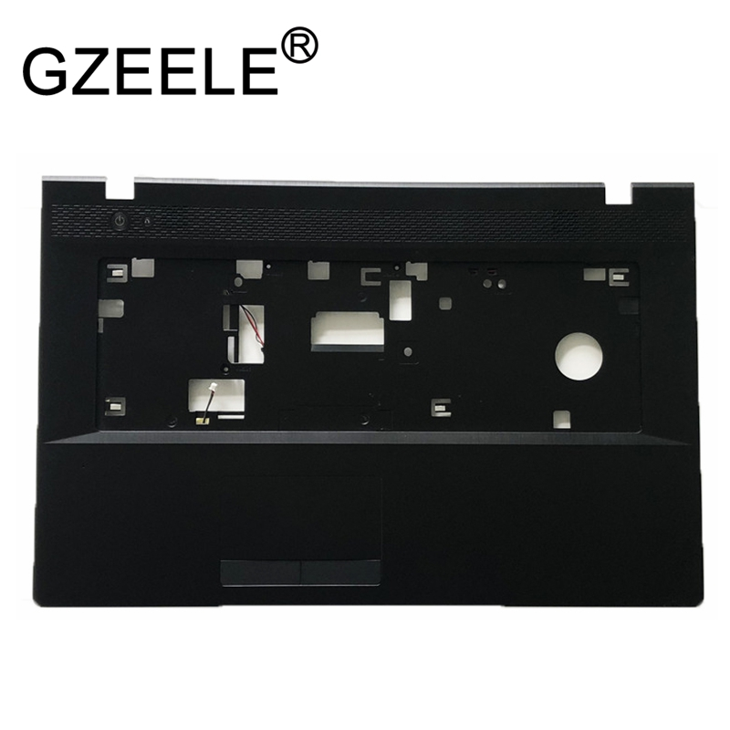 GZEELE NEW FOR Lenovo G700 G710 Laptop Palmrest upper case Keybord Bezel Cover Without Touchpad 13N0