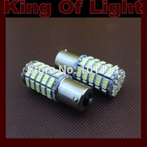 2x High quality led Car styling lighting s25 1156 p21w ba15s 127 led SMD 1206 3020 Free shipping