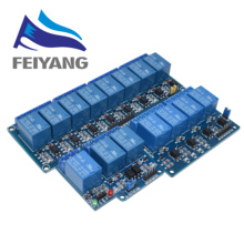 5v 1 2 4 8 channel relay module with optocoupler. Relay Outp