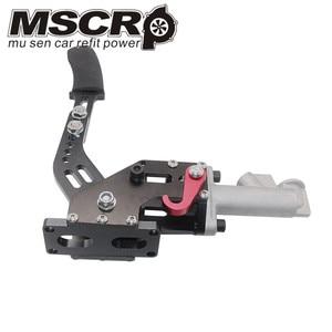 Image 5 - Universa alumínio Preto 0.75 INCH Duplo Cilindro Mestre Hidráulico Deriva Handbrake freio de Mão