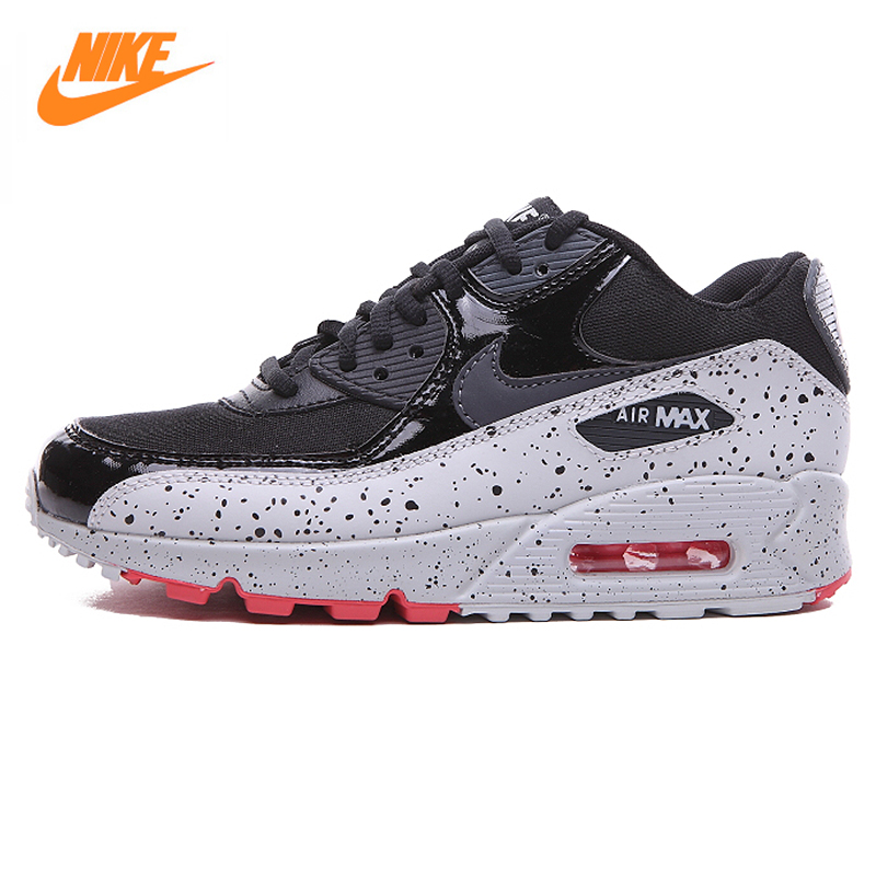 Nike AIR MAX 90 Women 's Running Shoes,Original Women Sports Sneakers Breathable Shoes 325213 max shoes max shoes ma095awirp77