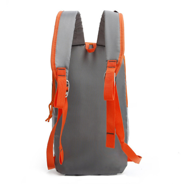 Waterproof Two-color Nylon Backpack