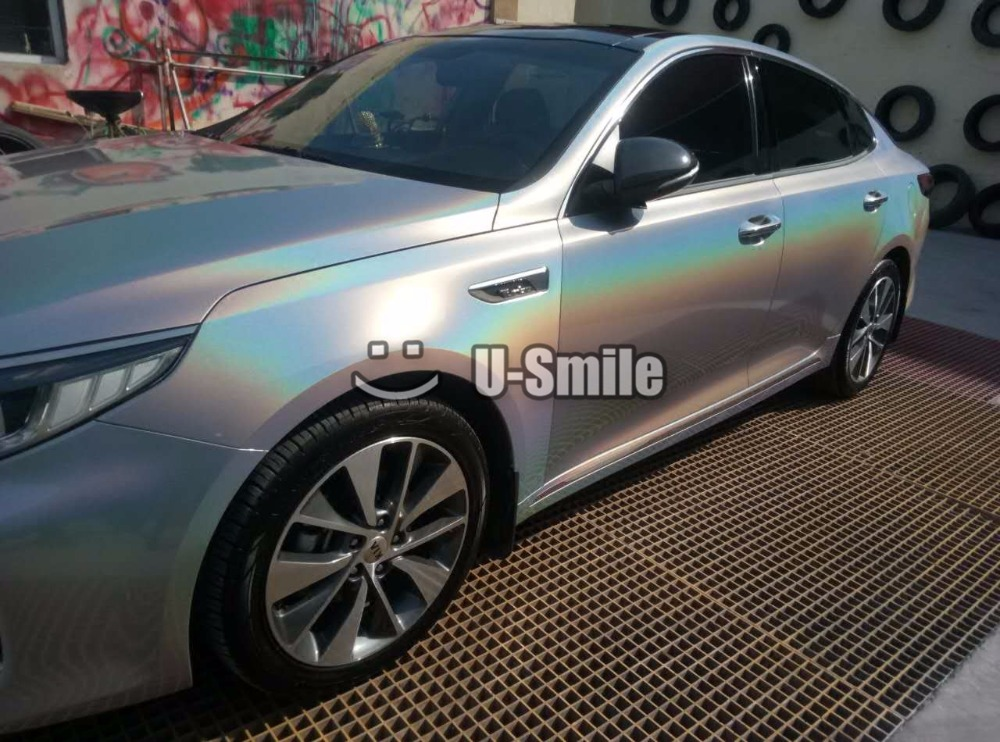 Silver-Gloss-Psychedelic-Car-Vinyl-Wrap (4)