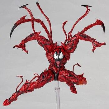 Marvel Red Venom Carnage в фильме Удивительный Человек-паук BJD подвижные суставы фигурка модель игрушки