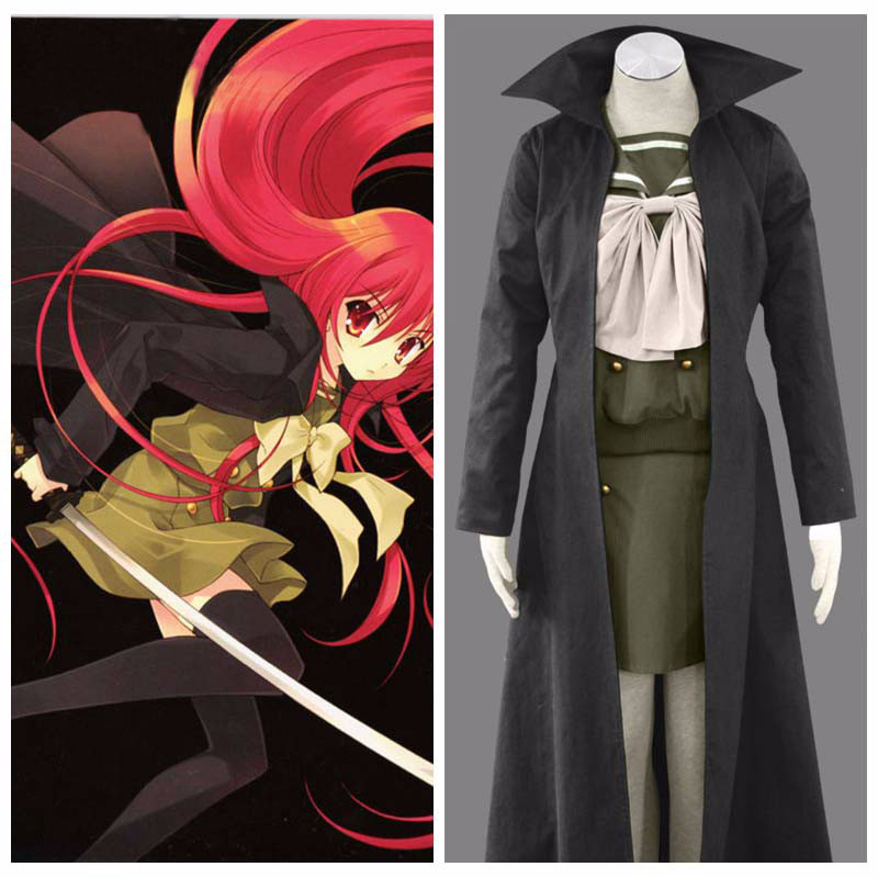 Ainclu Customize Hot Selling Costume High-quality Shakugan no Shana Shana's Outfit Anime Halloween Cosplay For Adult and Kid