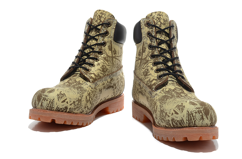 Original Super TIMBERLAND Animal Prints Men Premium Ankle Martin Boots,Man Genuine Leather Timber Outdoor Casual Shoes 10083 1