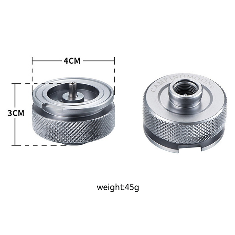 Image 2 - Hiking Camping Aluminum Alloy Gas Stove Adaptor Split Type Furnace Converter Connector Auto off Adapters Shipping USA S-in Outdoor Stoves from Sports & Entertainment