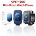 Q50 Android smartwatch para Crianças GPRS GPS Localizador Rastreador alarme Anti-Perdido inteligente relógios Melhor Presente para o miúdo Russo/inglês Pulso