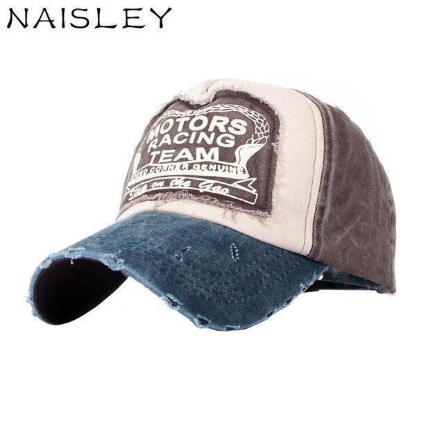 ffa13e3fc48 NAISLEY Casual Spring Summer Baseball Cap Snapback Hat Sunshade Caps Cotton  Truck Hats Curved Brim Hat Truck Drive Sport Cap New