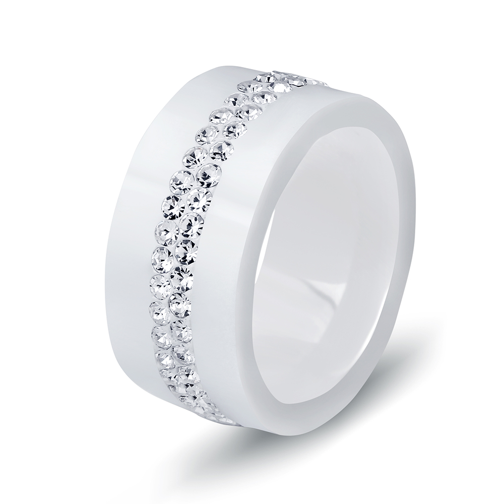 Crystal Ceramic Ring