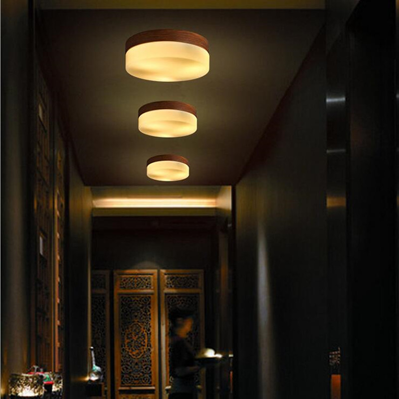 Japanese Lamps Loft Wrought Solid Wood Grain Led Ceiling Light Fixtures Bathroom Bedroom Kitchen Aisle Light Free ShippingJapanese Lamps Loft Wrought Solid Wood Grain Led Ceiling Light Fixtures Bathroom Bedroom Kitchen Aisle Light Free Shipping