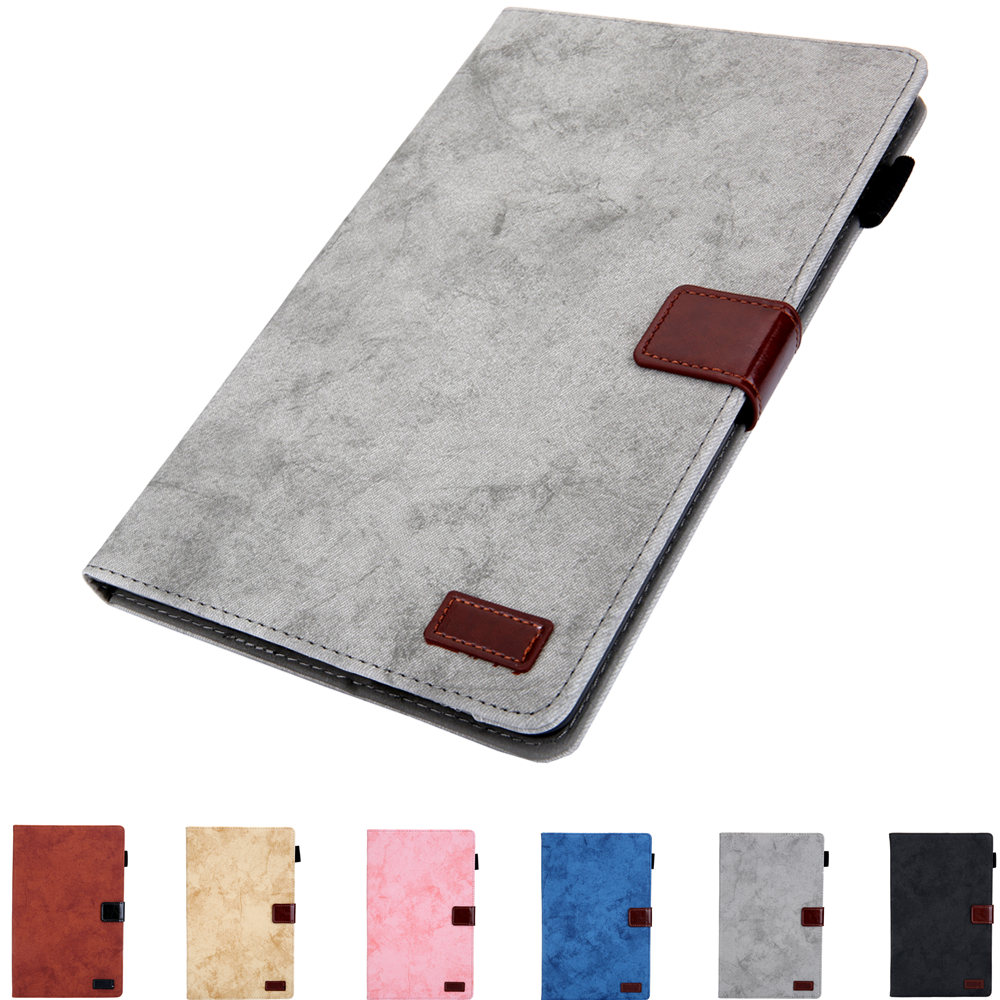 Stand Tablet Case For Samsung Galaxy Tab A 10.1 2019 SM-T510 SM-T515 T510 T515 PU Leather Flip Cover Protective Sleeve Bags