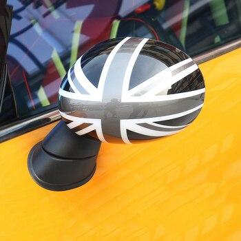 мини купер автомобильный чехол | Автомобильный Стайлинг двери крышка зеркала заднего вида Корпус наклейка Shell для Mini Cooper One S JCW F54 Clubman F60 Countryman аксессуары