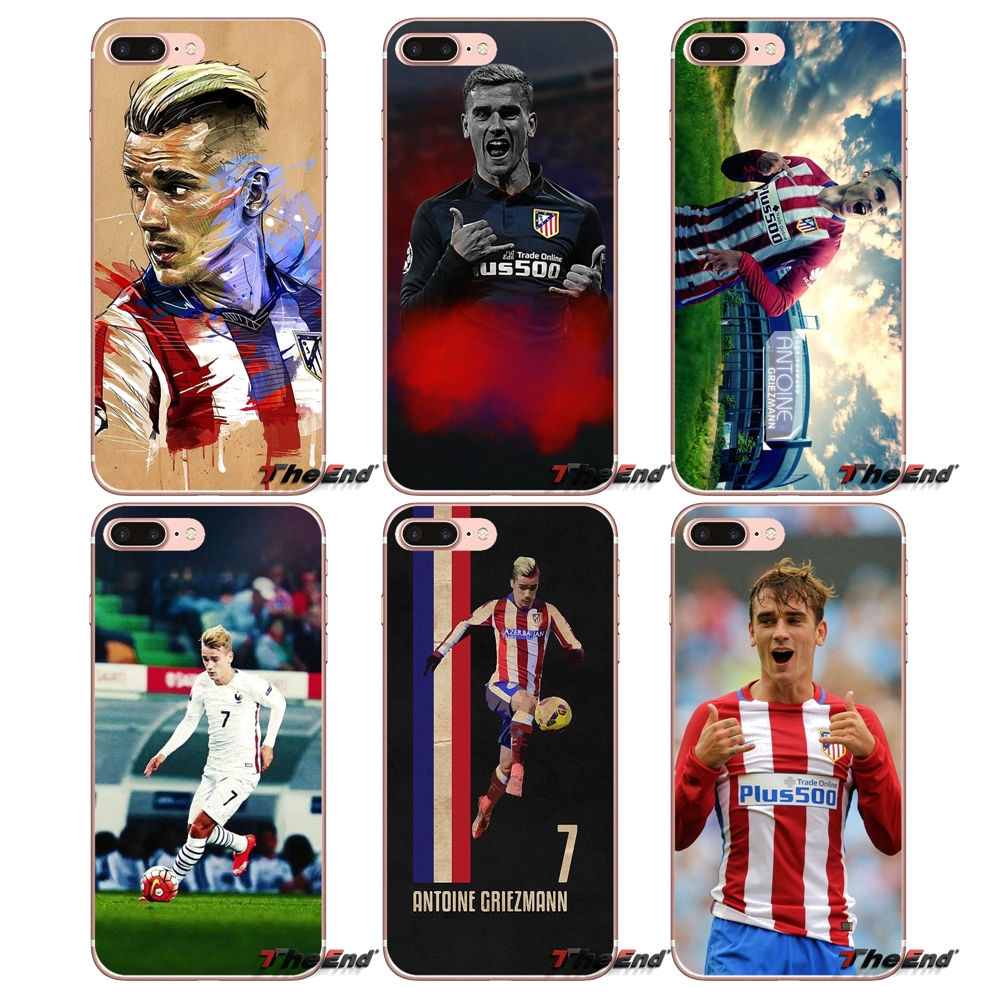 US $1 0 |Antoine Griezmann France Football Soft Case For Samsung Galaxy S9  Plus Note 8 One Plus oneplus 5T Meizu M5s LG V30 HTC U11 Capa-in