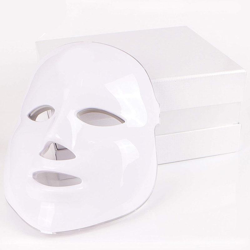 7 LED couleur système de thérapie par Photon soins de la peau du visage et masque beauté LED masque Facial soins de la peau masque de beauté
