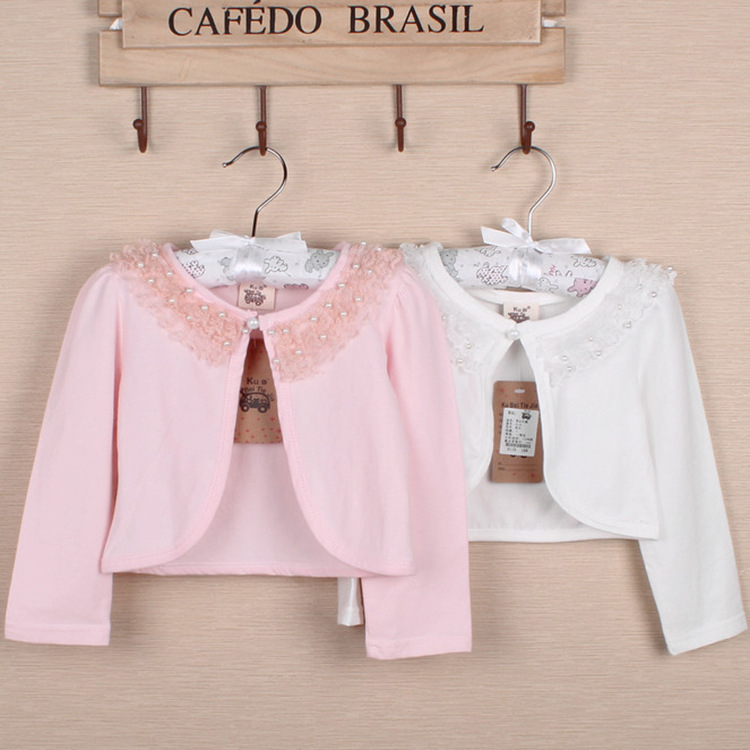 f2f03bbefd4d Kids Girls Summer Sunshine Protecting Coat Baby Girls Hollow Lace ...