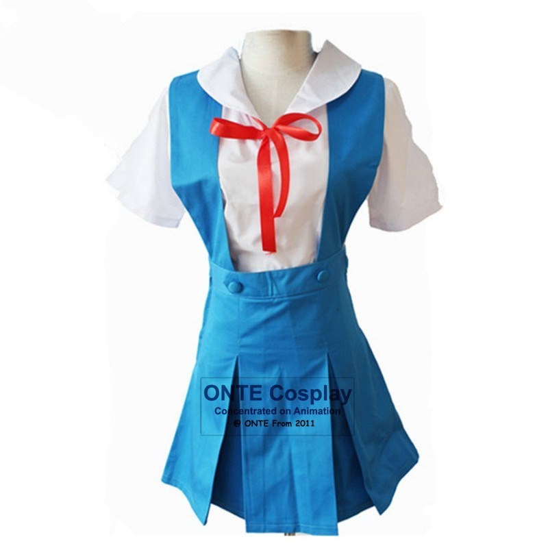 ... Anime-Evangelion-Eva-AYANAMI-REI-Japanese-Cosplay-Costume- ...