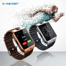 SMARCENT DZ09 DZ10 U8 Digital Apoyo Reloj Inteligente Bluetooth SIM Tarjeta TF Smartwatch Con Cámara Para IOS Android Teléfono pk GT08