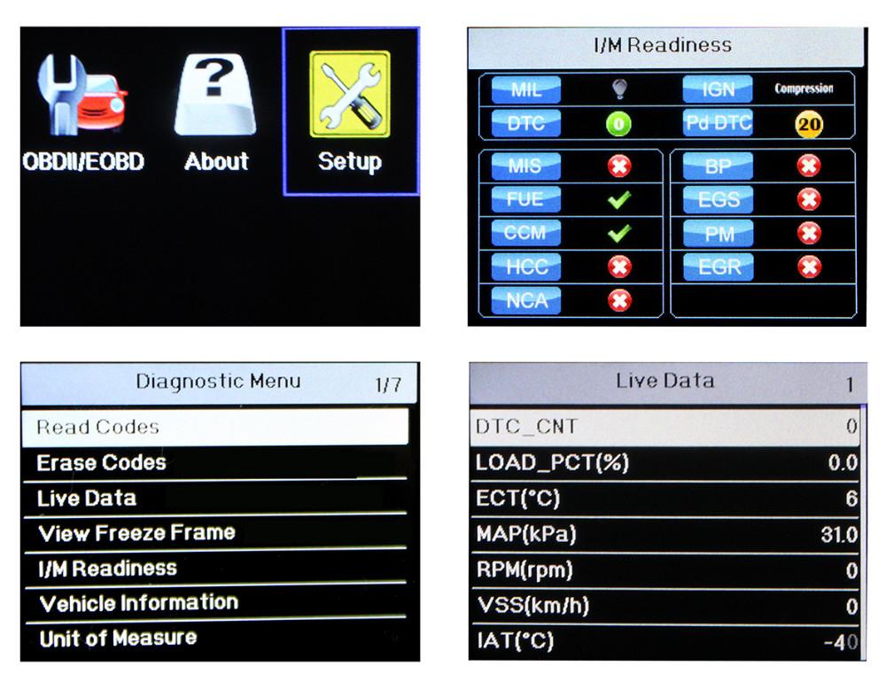 Mejores Coche escáner de diagnóstico universal Foxwell NT201 auto ...