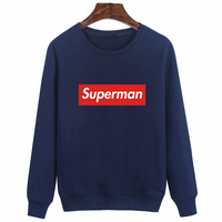 Casual Pullover Funny Letter Print Hoodies Brand Long Sleeve Cartoon Hoodies Autumn Winter Cotton White Dry