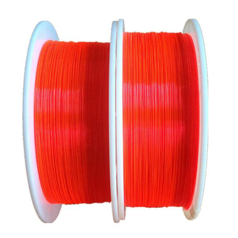 2.0mm Fluorescent fiber optic Cable Red Yellow Green neon PMMA fiber optic for gun sight lightting decorations x 100M ...