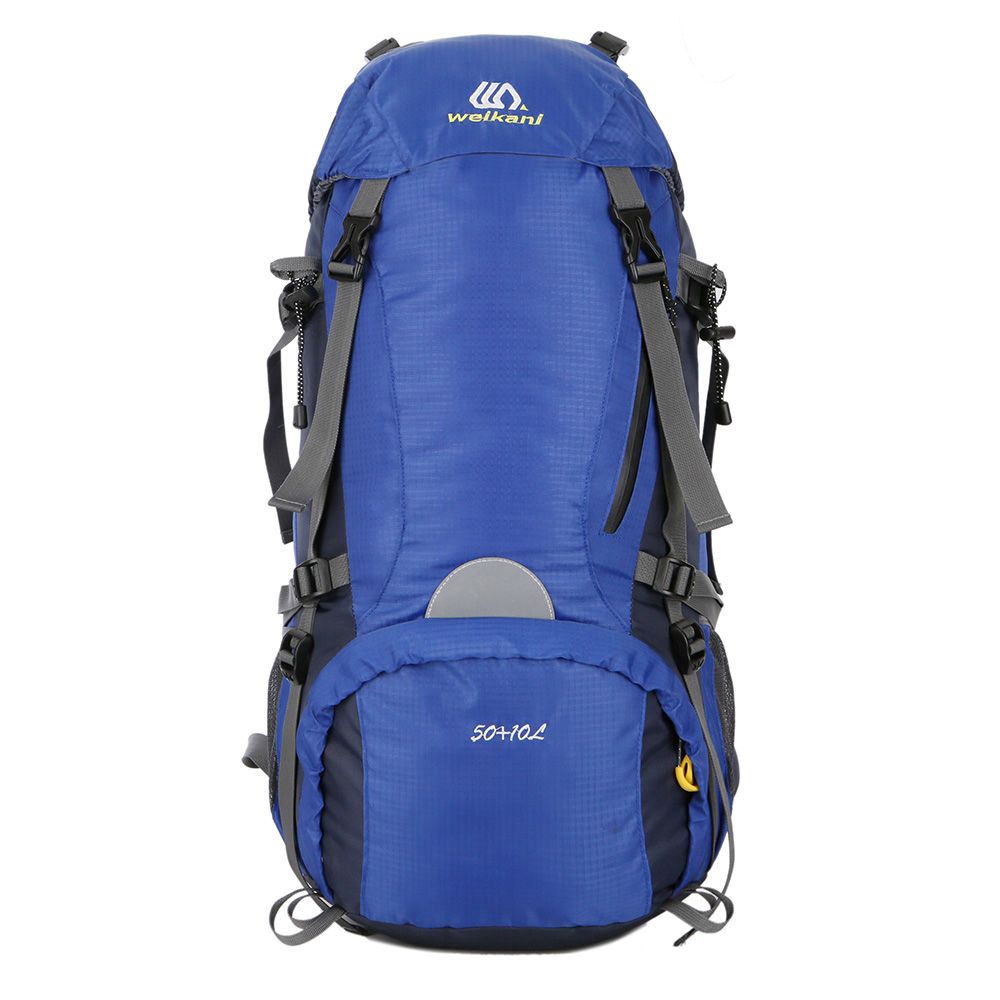 Outdoor Bags Sport Hiking Trekking 50+10L Waterproof Camping Travel Backpack Pack Mountaineering Climbing Knapsack Bags high quality 55l 10l internal frame climbing bag waterproof backpack suit for outdoor sports travel camping hinking bags