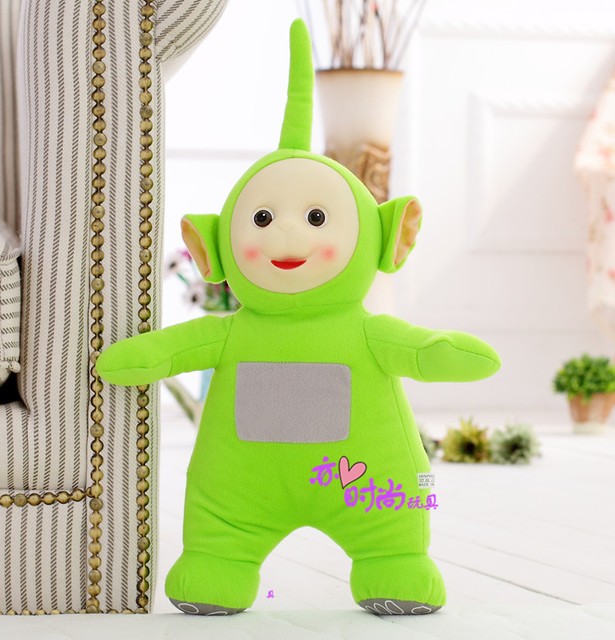 middle cute plush green Teletubbies toy stuffed dipsy doll gift about 35cm