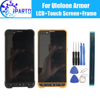 Ulefone Armor LCD Display+Touch Screen +Frame Assembly 100% Original Tested LCD Digitizer Glass Replacement For Ulefone Armor
