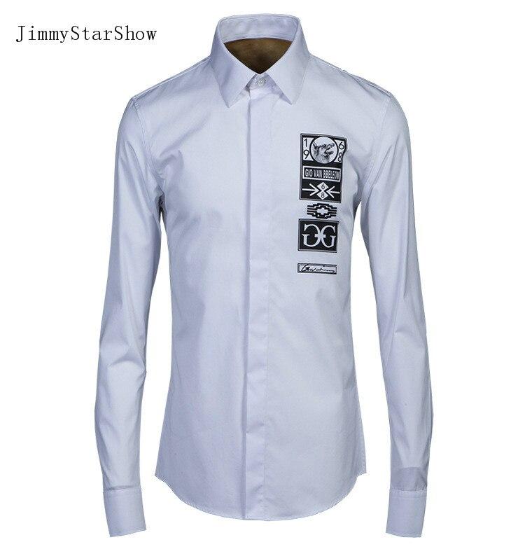 2017 New Cotton Dress font b Shirts b font High Quality font b Mens b font