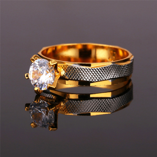 Women Gift Trendy Wedding Bands Rings R370
