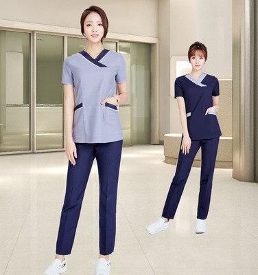 Korean Medical Plastic Surgery Hospital Work Clothes Yuezi Center Beauty Salon Nurse Manicurist Professional Suit
