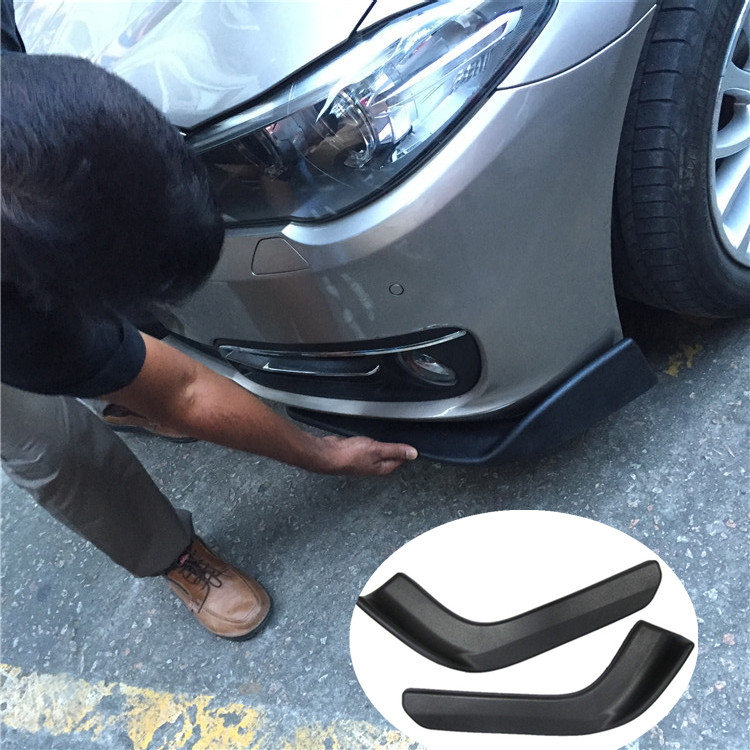 Universal large modified car bumper surrounded by large bag small front/bumper splitter FIT FOR suzuki SX4 S CROSS R+L