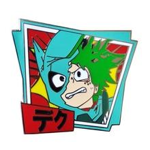 Anime My Hero Academia Deku Izuku Midoriya Enamel Pin Brooch