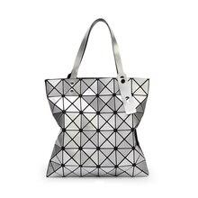 Frauen handtaschen umhängetasche tote 2016 geometrische gitter frauen tasche designer-handtaschen hochwertigen griff taschen