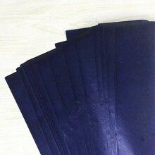 Stationery Paper Blue Office Thin-Type 48K School Double-Sided Finance 50pcs