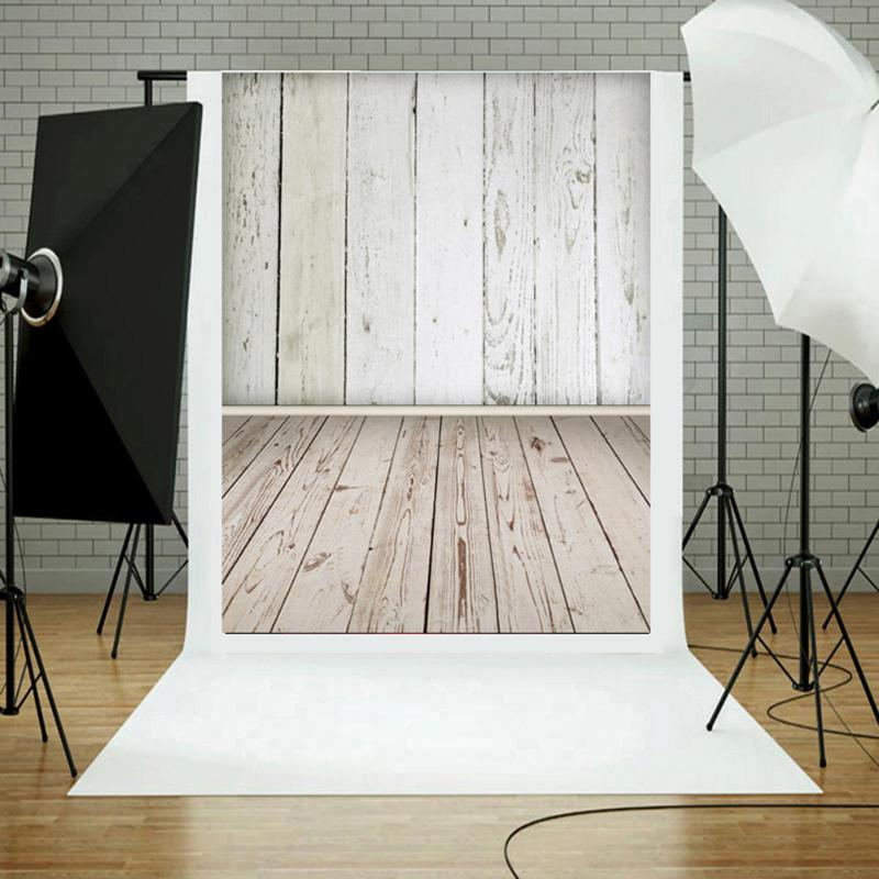 Photography Studio Backdrop Background Vertical Wood Grain Photo Background Art Cloth Photography Studio Backdrop Decor Supplies