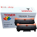 2PK TN2420 черного цвета для MFC-L2710DN L2710DW L2730DW L2750DW, DCP-L2550DN L2550DW, HL-L2350DW L2310D L2357DW картридж для тонера к принтеру