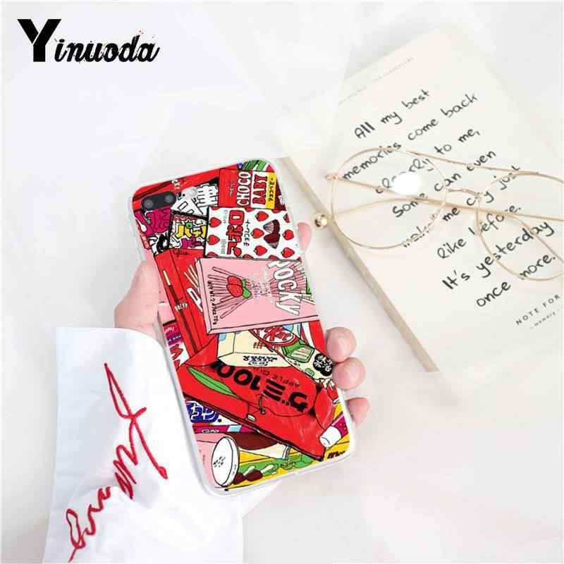 Yinuoda Kawaii اليابانية الفراولة الحليب الفاخرة فريد غطاء الهاتف ل iPhone8 7 6 6SPlus X XSMAX 5 5s SE XR 10 11 11pro 11promax