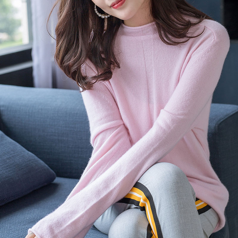 High Quality Soft Women Sweater 100 Pure Cashmere Knitted Pullover Tops Winter New Arrival Fashion Girl