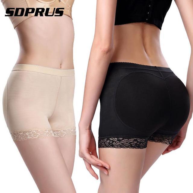 fd9fdac6ee2f Butt Lifter Sexy Breathable Seamless Butt Enhancer Body Shaper Butt Lift  Fake Ass Hip Up Padded