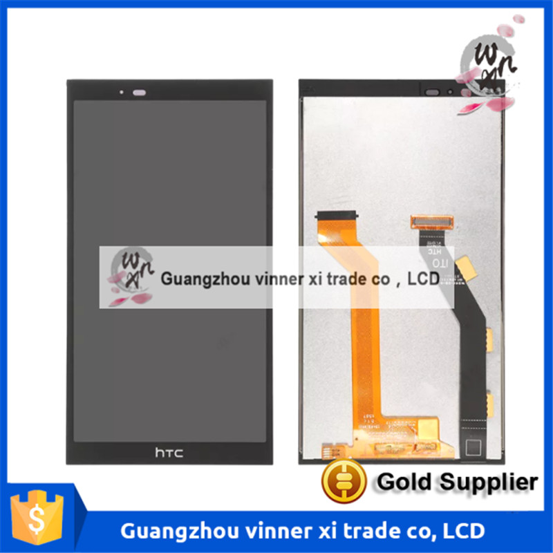 ФОТО Black For HTC ONE E9+ / One E9 Plus TD-LTE E9px E9pt A55  LCD Display Touch Screen Digitizer Glass Assembly Replacement