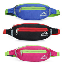 New Unisex Chest Bags Sport Nylon Waterproof Functional Bag Waist Bag Money Phone Belt Bag Package 3 Colors