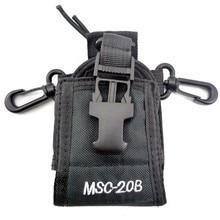 10Pcs MSC-20B Nylon Multi-function Radio Walkie Talkie Case Holder For Baofeng uv 3r UV-5R UV-5RE Plus UV-82 GT-3