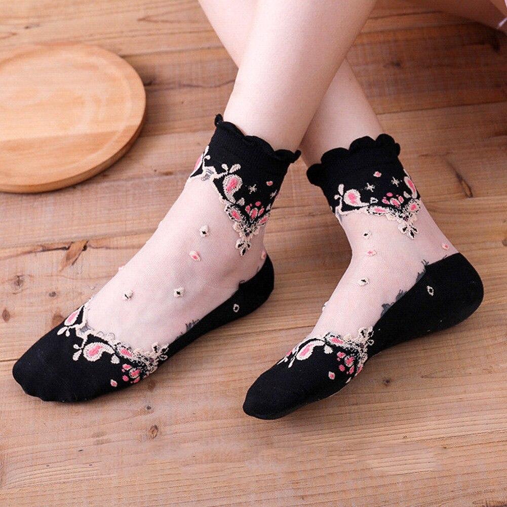 HTB1.PCjN3HqK1RjSZJnq6zNLpXaZ - Mesh Flowers Summer Super Thin Retro Comfortable Women Socks