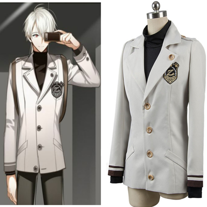 Mystic Messenger EXTREME Saeyoung/Luciel Outfit Cosplay Zen Mystic Messenger uniforms cosplay men and women Jackets+ Shirt