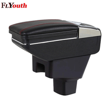 For SUZUKI SX4 2006-2018 Car Armrest Box Central Store Content Box Cup Holder Ashtray Decoration Interior Car-Styling Accessory car armrest box central store content box cup holder ashtray products car styling accessories part for suzuki swift 2005 2018